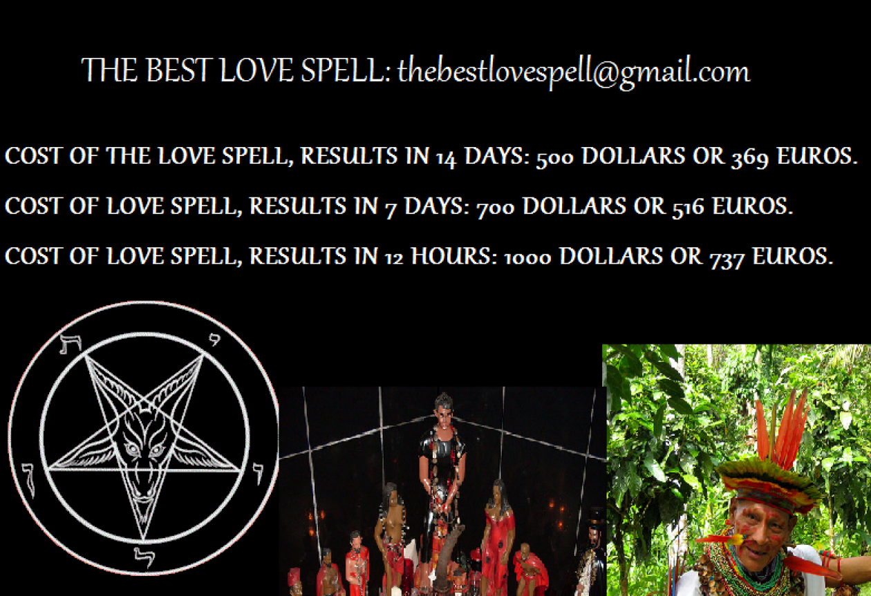 THE BEST LOVE SPELL